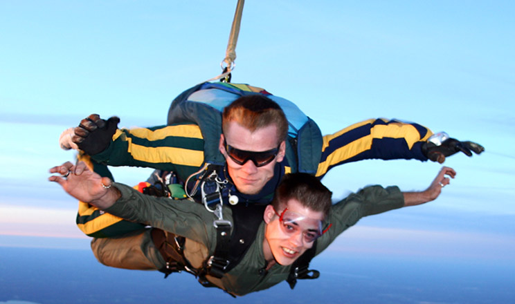 Canton Airsports - Ohio tandem skydiving