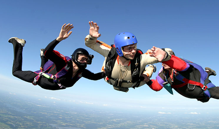 Canton Airsports - Ohio assisted freefall - Learn to skydive
